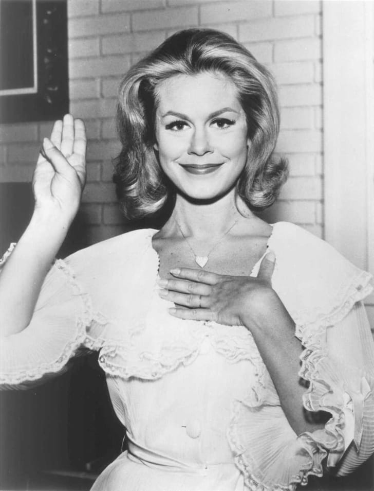 Elizabeth Montgomery stars in 'Bewitched'