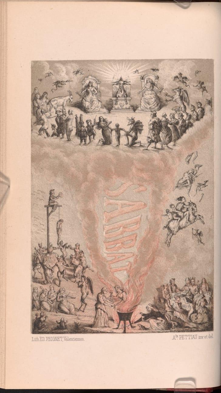 Théophile Louïse, De la sorcellerie et de la justice criminelle à Valenciennes (XVIe et XVIIe siècles), 1861