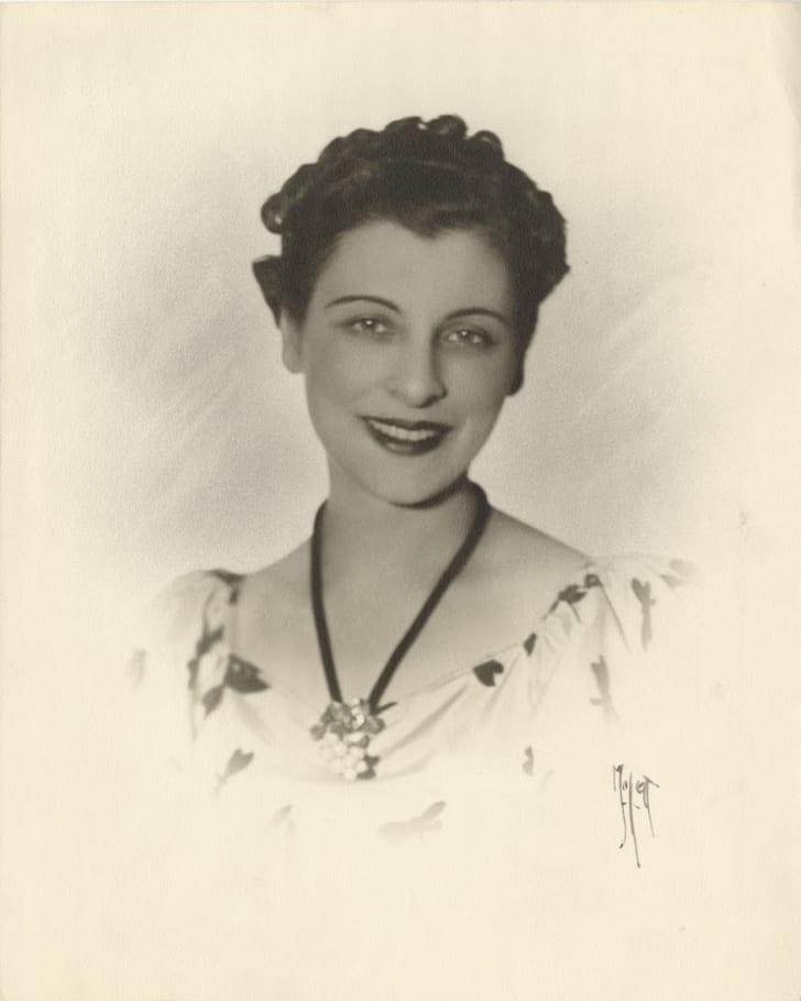 Young attorney Helen Cirese in the 1920s