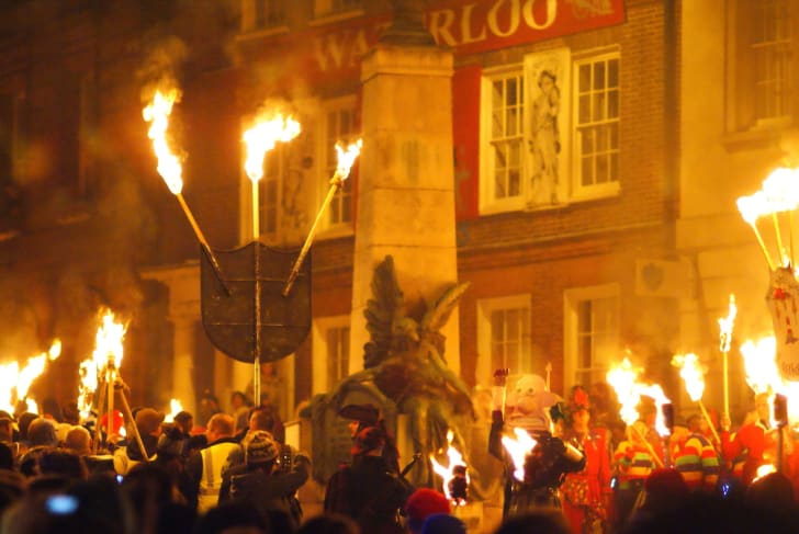 Guy Fawkes Night celebration.