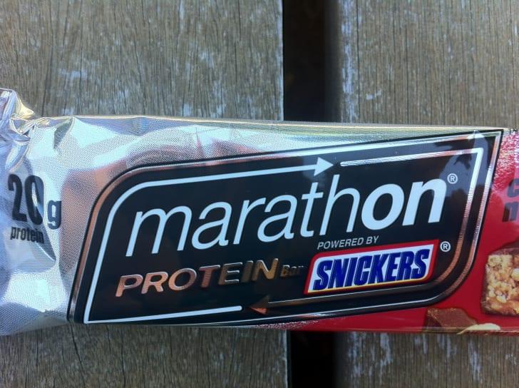 A Marathon bar.