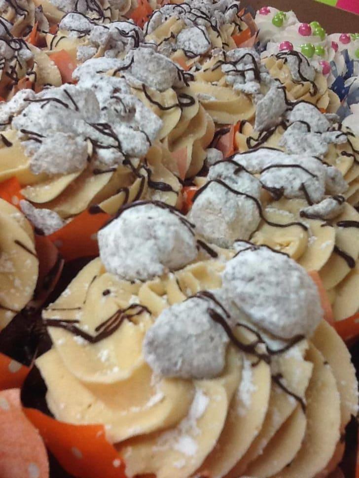 Cake Guru Chocolate Peanut Butter Cupcake