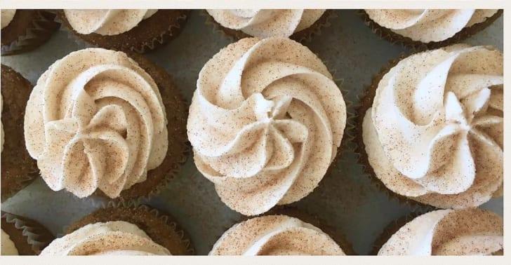 Treehouse Bakery French Toast Cupcake
