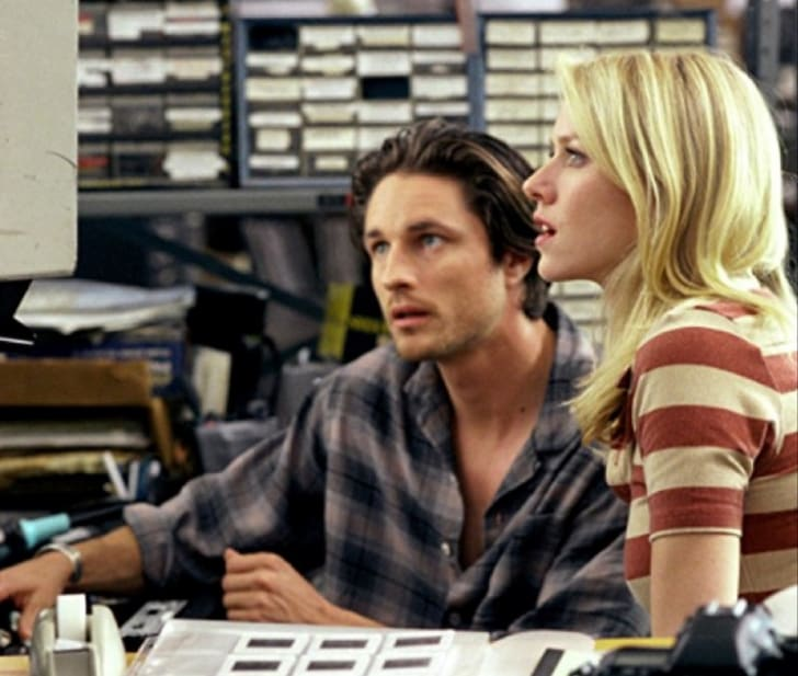 Martin Henderson and Naomi Watts star in 'The Ring' (1992)