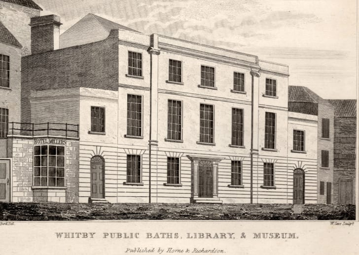 The library building where Stoker discovered Dracula