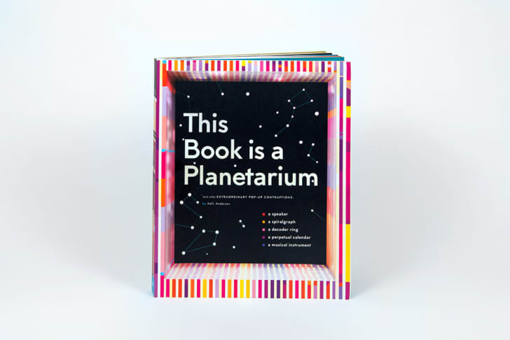 The cover of This Book Is a Planetarium