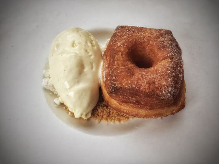 THE GREY PLUME duck fat donut