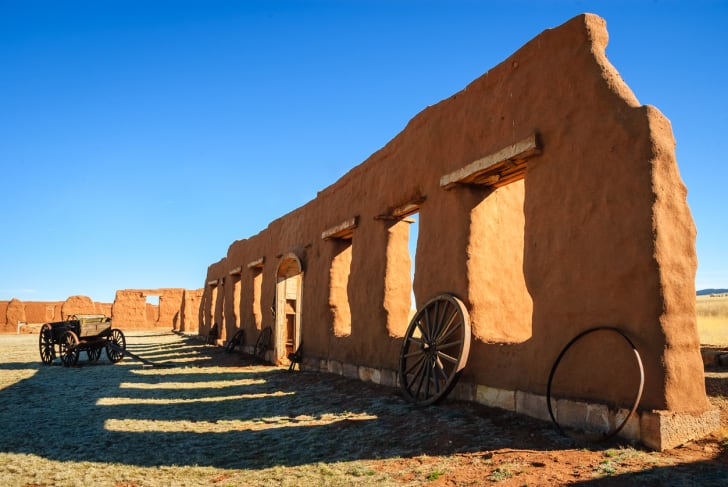 Fort Union in New Mexico.