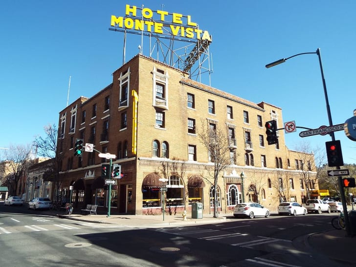 The Flagstaff Hotel in Arizona.