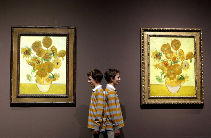 Vincent van Gogh's 'Sunflowers' at the National Gallery in London