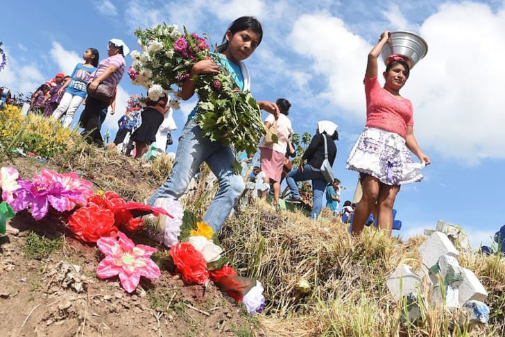 Celebrating All Saints' Day in El Salvador