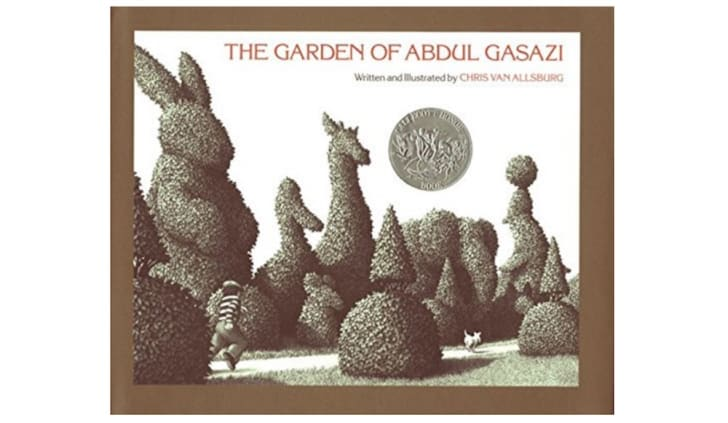 A copy of The Garden of Abdul Gasazi