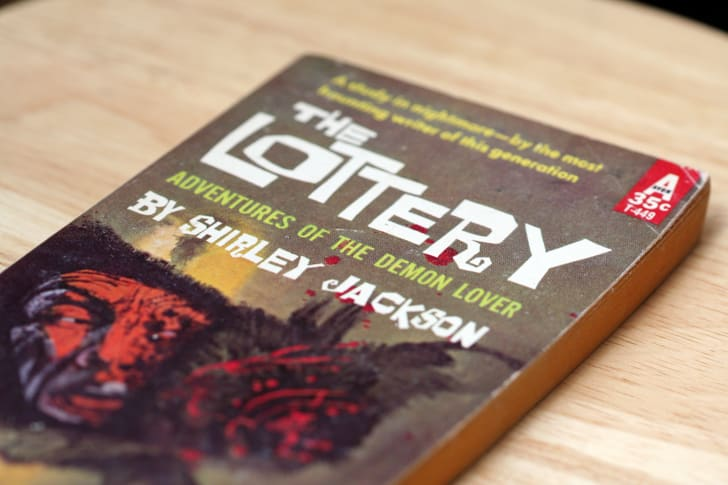 """A copy of Shirley Jackson's """"The Lottery"""""""