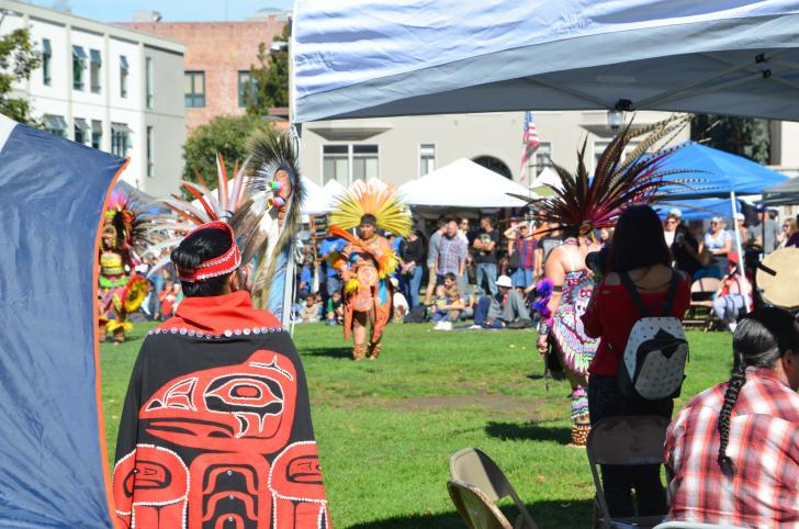 2016 Indigenous Peoples Day Berkley California