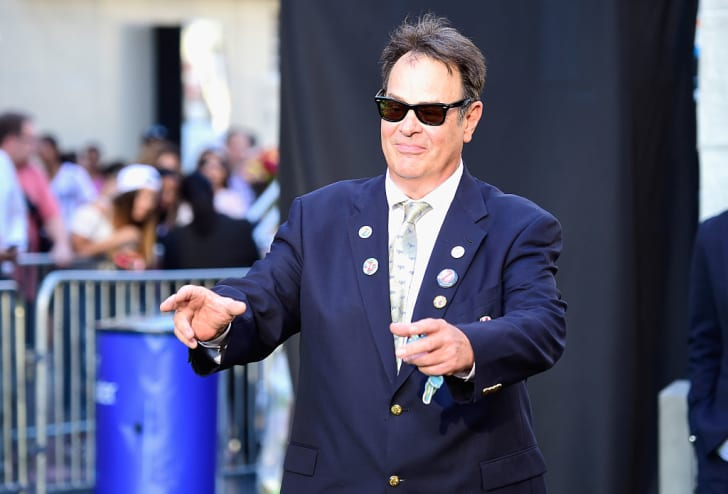 Dan Aykroyd at a film premiere.