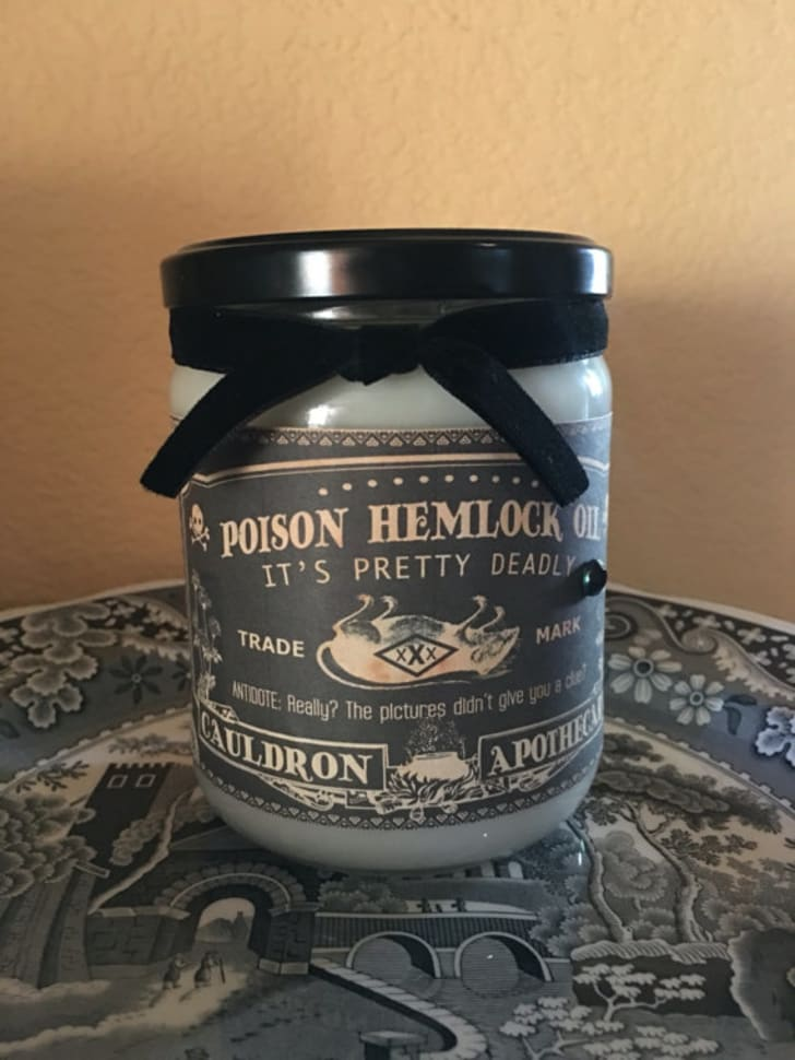 Pick Your Poison candle by Mr. Toad's House of Wax