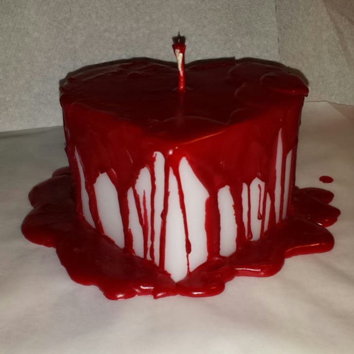 Bleeding Heart Candle by Cozy Custom Candles