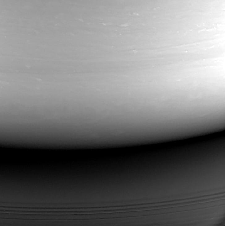 final image of Saturn from cassini spacecraft