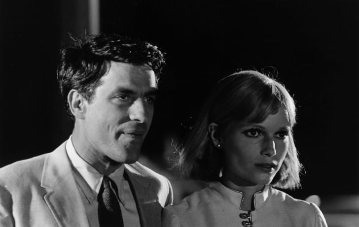 John Cassavetes and Mia Farrow in 'Rosemary's Baby.'