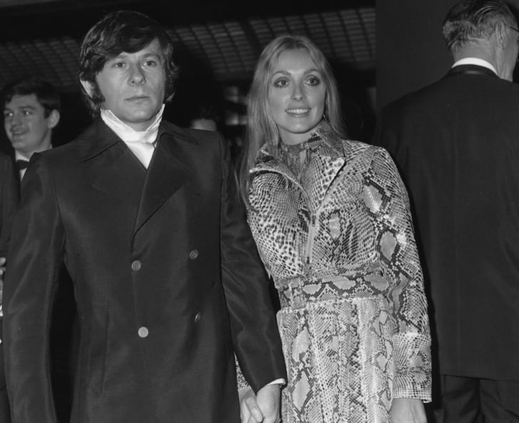 Roman Polanski and Sharon State attend the premiere of 'Rosemary's Baby.'