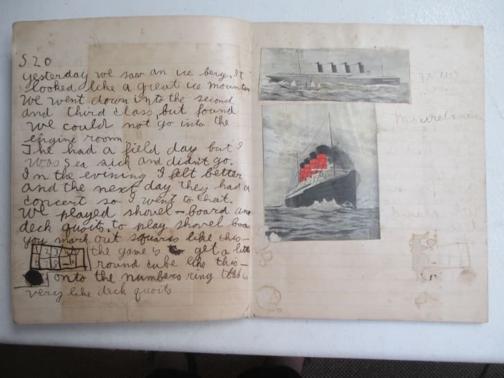 "A notebook containing an early short story by Ernest Hemingway, written when he was 10 years old, discovered among the collection of Telly Otto ""Toby"" Bruce."