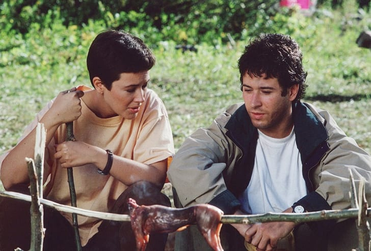 Janine Turner and Rob Morrow in 'Northern Exposure'