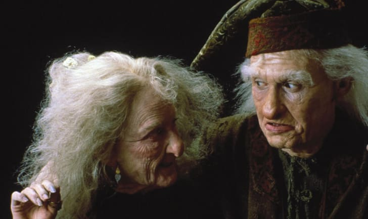 Carol Kane and Billy Crystal in The Princess Bride (1987)