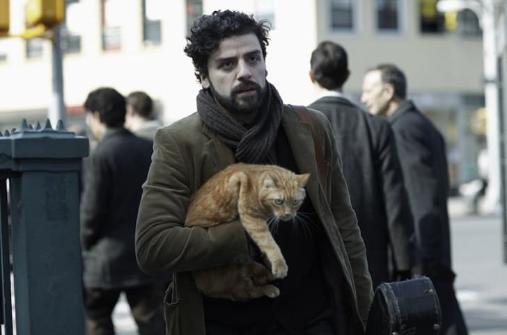 A photo of Oscar Isaac in the Coen brothers' 'Inside Llewyn Davis' (2013).