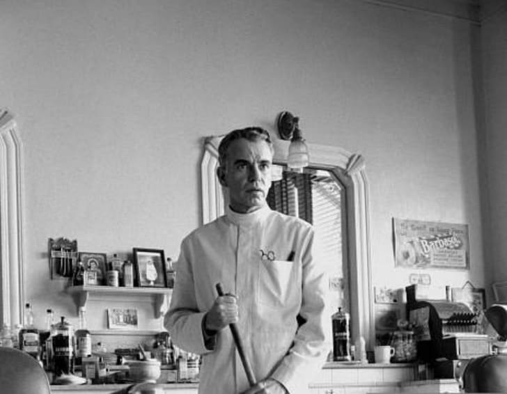 Billy Bob Thornton in the Coen brothers' 'The Man Who Wasn't There' (2001)