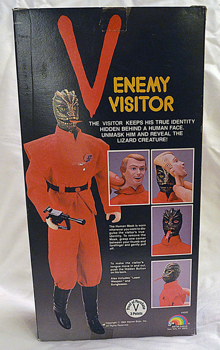 A licensed action figure from the 'V' miniseries