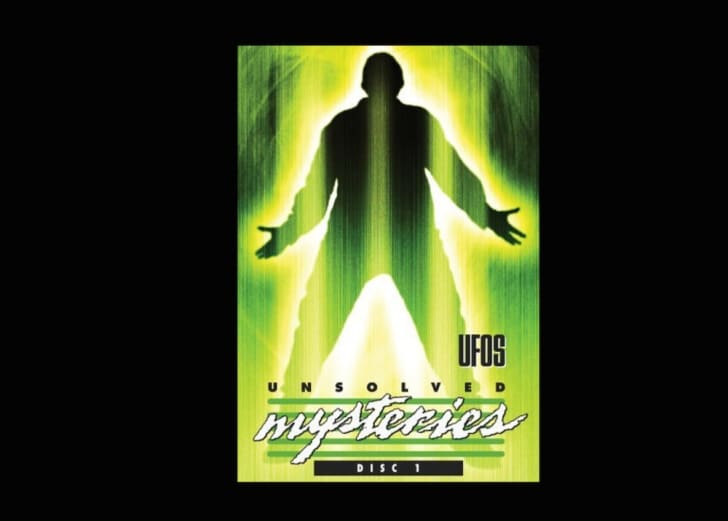 DVD cover of Unsolved Mysteries: UFOs