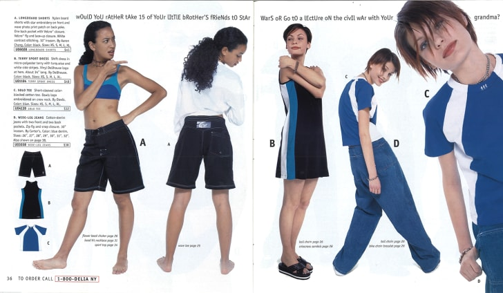 A page from the Summer '97 dELiA*s catalog.