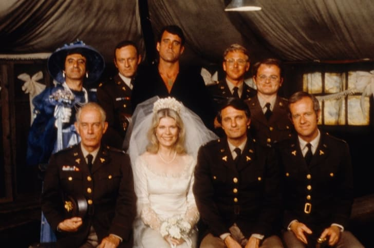 The cast of MASH