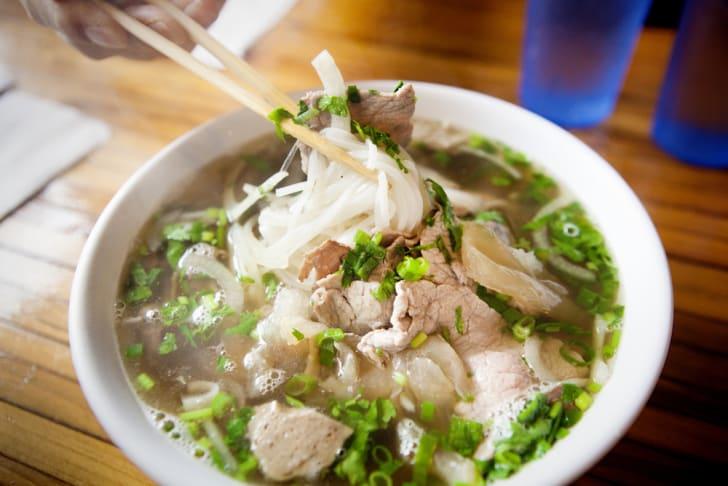 Photo of Vietnamese pho