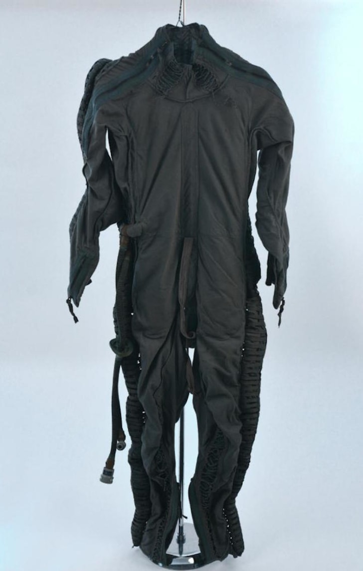 Flight suit used on air force jet.
