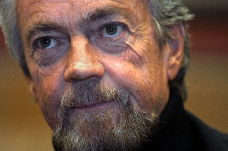 Writer and producer Stephen J. Cannell is seen at a public appearance