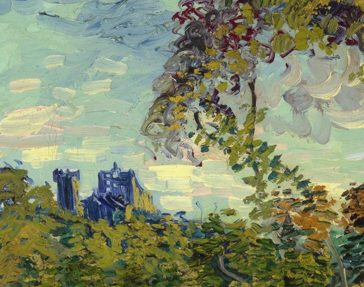 "Van Gogh, ""Sunset at Montmajour,"" 1888"