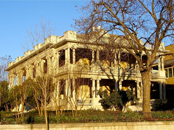 A photograph of The Mansion at Judge's Hill