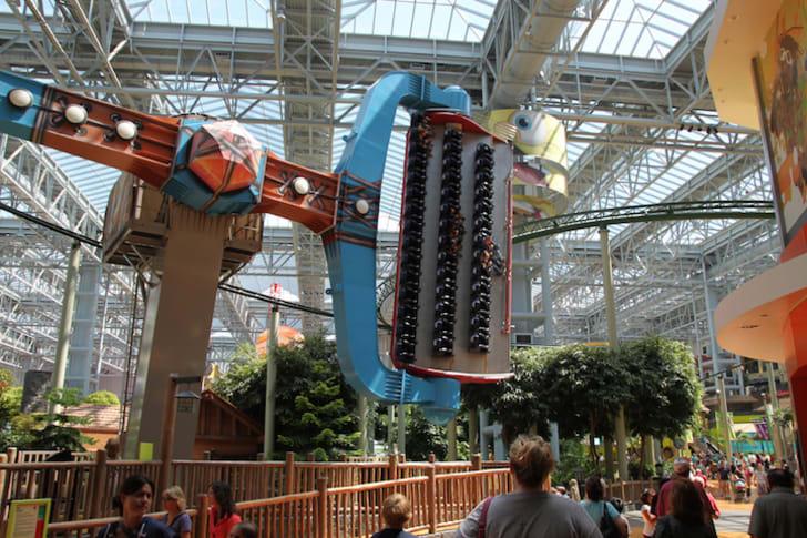 Inside of Mall of America.