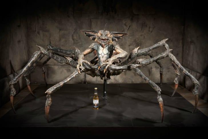 The spider Gremlin prop from 'Gremlins II'