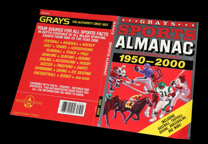 The sports almanac seen in 'Back to the Future II'