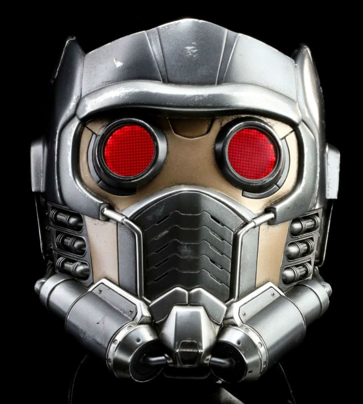 Star-Lord's helmet from 'Guardians of the Galaxy'