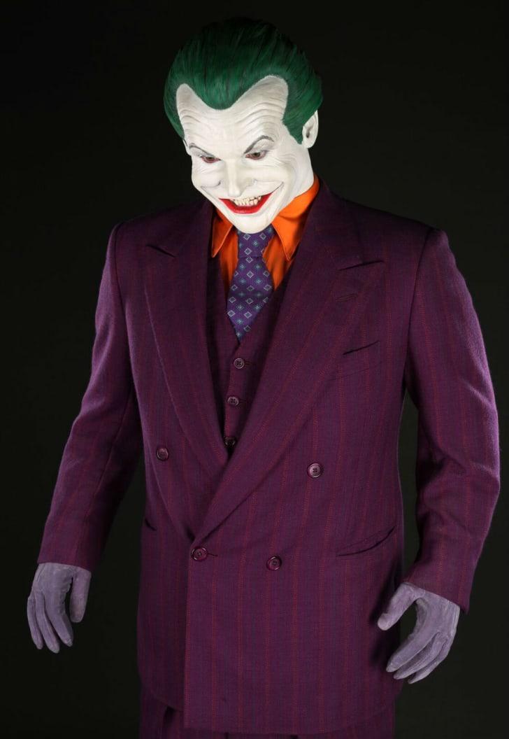 Jack Nicholson's Joker costume seen in the 1989 film 'Batman'