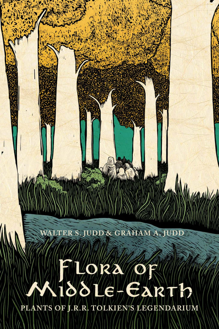 "Cover art for botanist Walter Judd's book ""Flora of Middle-Earth: Plants of J.R.R. Tolkien's Legendarium."""