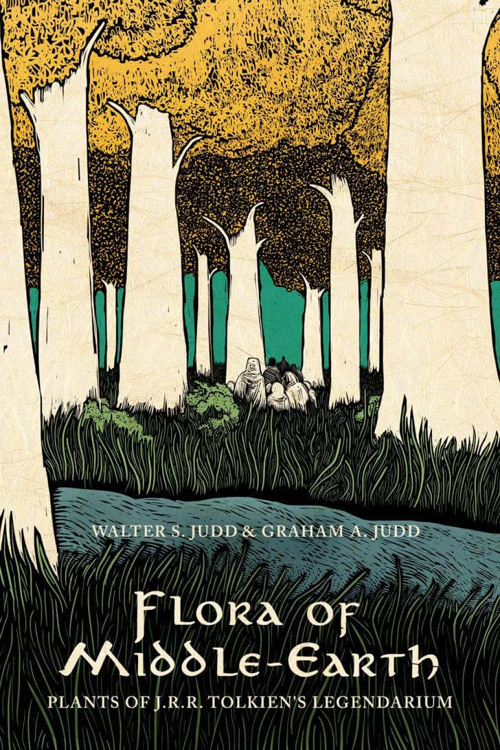 "Cover art for botanist Walter Judd's book ""Flora of Middle-Earth: Plants of J.R.R. Tolkien's Legendarium."""