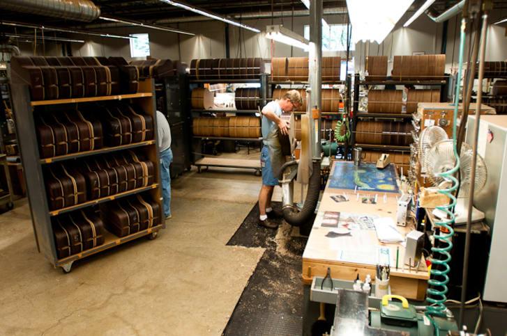Inside the Martin Guitar Factory