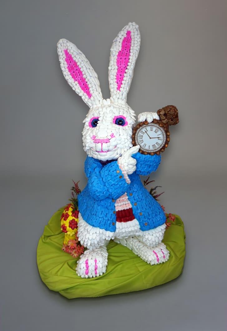 The rabbit from Alice in Wonderland