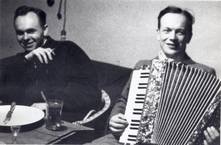 Dr. Eugene Lazowski and Dr. Stasiek Matulewicz.