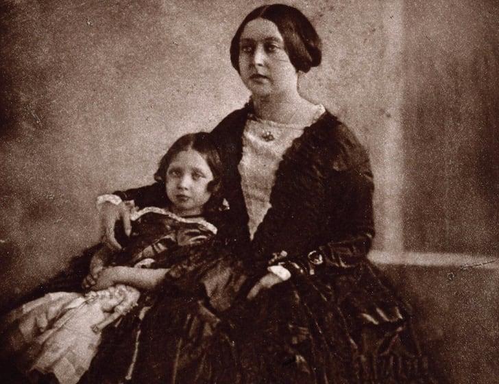 Queen Victoria and her eldest child