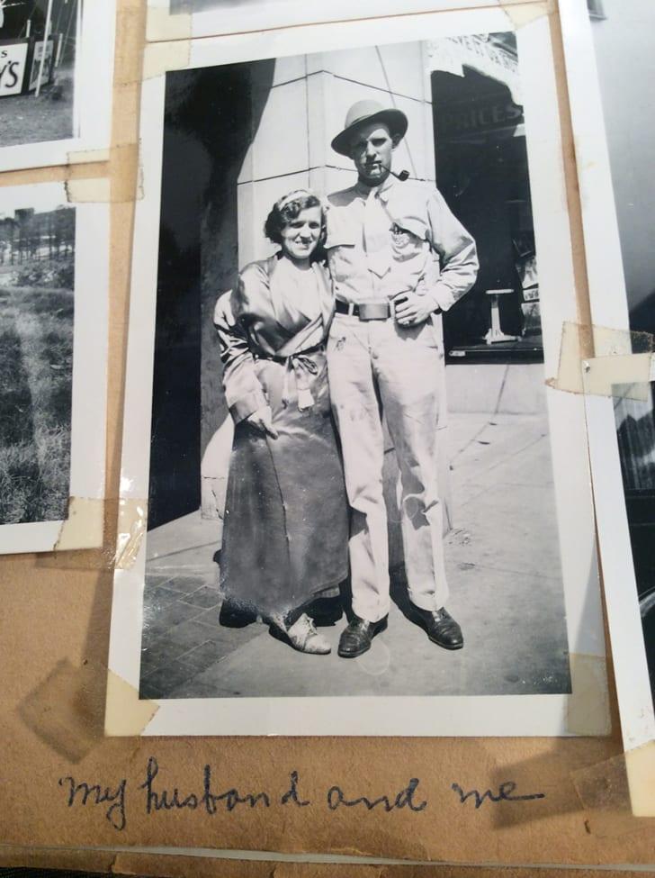 Agnes Schwarzenbacher and her husband